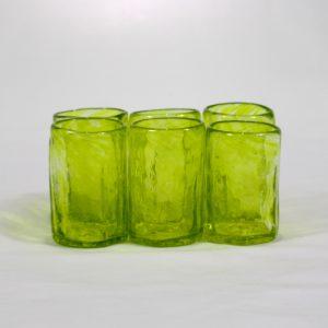 Mezcalero ancho (set de 6)-Amarillo limón