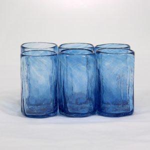 Mezcalero ancho (set de 6)-Turquesa