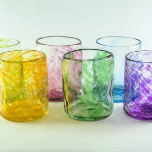Vaso grande (set de 6) - multicolor