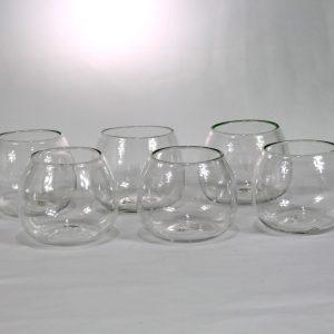Vaso de vino (set de 6)- Transparente