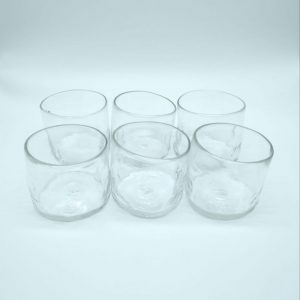 Vaso chico (set de 6)- Transparente